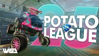 POTATO LEAGUE #25 | Rocket League Funny Moments & Fails