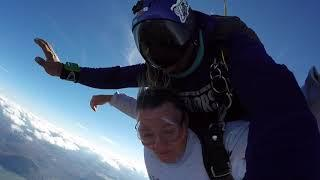 Tandem skydive | Joy from Crandall, GA CW