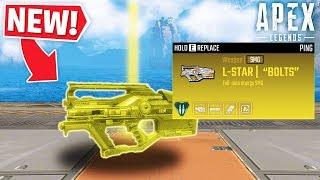 NEW L-STAR WEAPON *GAMEPLAY*..! - Apex Legends Funny Fails & Epic Moments #17