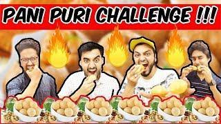 FUNNY PANI PURI-GOLGAPPA EATING CHALLENGE | HYDERABADI COMEDY | The Baigan Vines