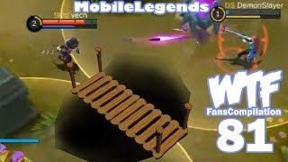 Mobile Legends WTF Moments 81 Fans Compilation Funny Savage