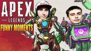Apex Legends Funny Moments & Epic Fails ,WTF Moments, Twitch Highlights Compilation! #44