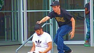 Shaving Peoples Heads Prank Part 2