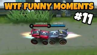 MOBILE LEGENDS FUNNY MOMENTS PART 11   WTF MOMENTS