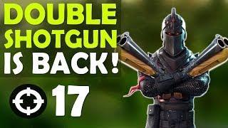 DOUBLE SHOTGUN IS BACK! | DOUBLE BARREL SHOTGUNS | HIGH KILL FUNNY GAME -(Fortnite Battle Royale)