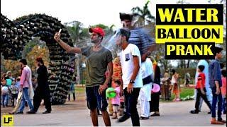 Throwing Water Balloons at People Prank | LahoriFied