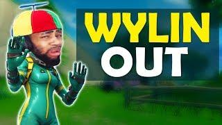 IMPERSONATING PLAYERS I KILL | WYLIN OUT | HIGH KILL FUNNY GAME - (Fortnite Battle Royale)