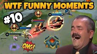 MOBILE LEGENDS FUNNY MOMENTS PART 10   WTF MOMENTS