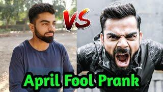 Virat Kohli April Fool Prank | Fake Celebrity Prank |  Pranks In India |