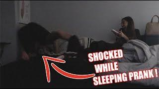 INSANE SHOCK PRANK ON BOYFRIEND !!! (HILARIOUS)