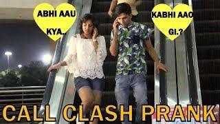 CALL CLASH PRANK BY GIRL IN NIGHT | PRANK IN INDIA | BY VJ PAWAN SINGH