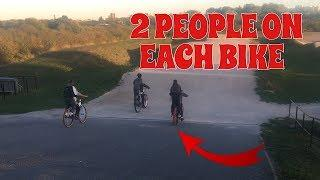 MOST EXTREME BMX RACE * WITH A TWIST *