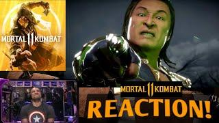 Mortal Kombat 11 - Kombat Pack : Shang Tsung DLC Reveal Trailer! : REACTION!