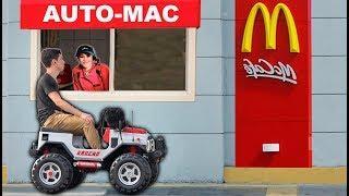 Prank en McDonald's | Bromas en auto mac