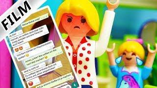 Playmobil Film Deutsch HEFTIGER WHATSAPP PRANK AN MAMA! GEHT DAS ZU WEIT VON HANNAH? Familie Vogel