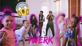 Teaching The Girls How To Dance Prank On AJMOBB
