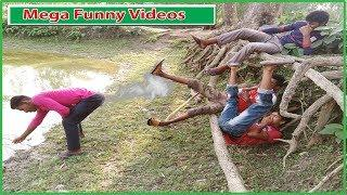 Mega Funny Videos|Watch Fun & Try To Control Your Laugh| All In One Tv bd