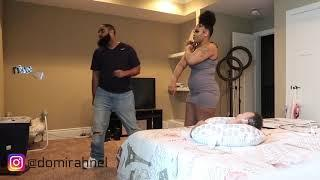 WIFE WEARING SHORT DRESS PRANK ON HUSBAND !!!! | BACKFIRES BIG TIME!! (MUST WATCH)
