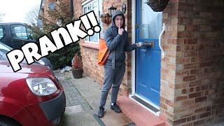 PRANK DELIVERY MAN