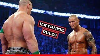*EXTREME RULES* WWE RAW John Cena Vs Randy Ortan - WWE 2018 EXTREME Gameplay Funny Moments