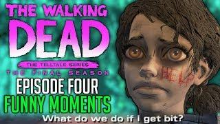 "FUNNY MOMENTS of The Walking Dead: The Final Season Episode 4 ""Take Us Back"""