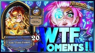 Hearthstone - Witchwood WTF Moments - Funny and lucky Rng Moments