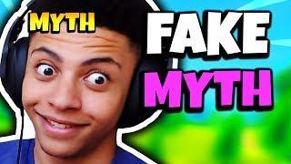MYTH REACTS TO FAKE TSM MYTH | Fortnite Daily Funny Moments Ep.124