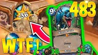 HEARTHSTONE Best Daily FUNNY and WTF Moments 483!