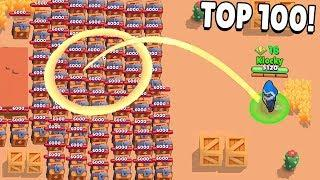 TOP 100 FUNNIEST FAILS in Brawl Stars Glitches & Funny Moments & Fails | #21