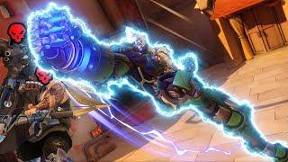 World's MOST SATISFYING Doomfist Uppercut - Overwatch Funny Moments & Best Plays 69