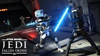 Star Wars Jedi: Fallen Order Official Gameplay Demo – EA PLAY 2019