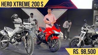 Hero Xtreme 200S (Full-Fairing) Launched At Rs. 98,500 - Detailed Walkaround