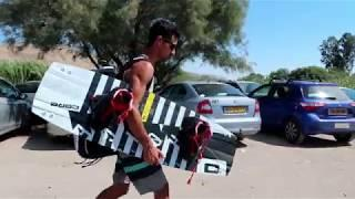 FPV Adventure - Extreme Kite Surfing Session