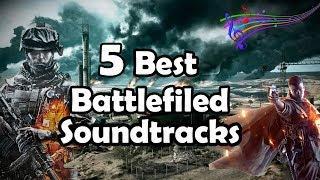 TOP 5 BATTLEFIELD THEME SONGS/SOUNDTRACKS (Best Battlefield Music Theme) Battlefield!