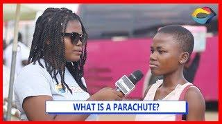 What is a PARACHUTE? | Street Quiz | Funny Videos | Funny African Videos | African Comedy