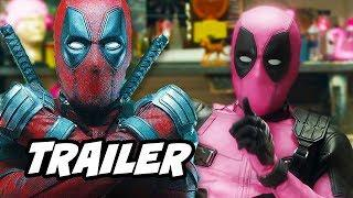 Deadpool 2 Cancer Trailer Easter Eggs and Funny Moments Breakdown