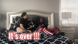 BREAK UP PRANK ON BOYFRIEND *MUST SEE*