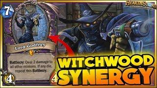 Hearthstone - WITCHWOOD WTF Moments, SINERGY - Daily Funny Rng Moments