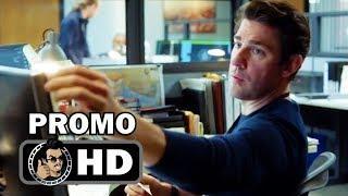 "JACK RYAN Official Promo Trailer ""Presidents"" (HD) John Krasinski Series"