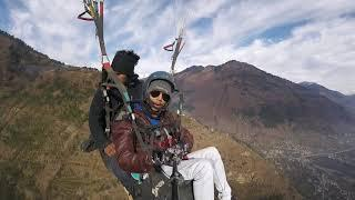Paragliding in Kullu Manali Solang Valley India| In most Dangerous Valley By Darshit Vaghela