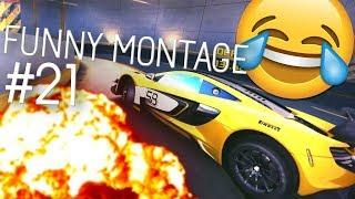 FUNNY ASPHALT 8 MONTAGE #21 (Funny Moments and Stunts)