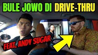 BULE JOWO PRANK DRIVE THRU PAKAI BAHASA JAWA (FEAT. Andy Sugar)