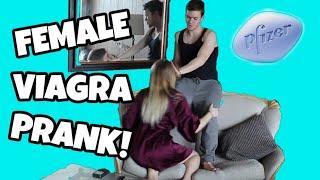 FEMALE V.I.A.G.R.A PRANK ON GIRLFRIEND!!!