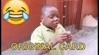 ORIGINAL CARD (COMEDY SKIT) (FUNNY VIDEOS) - Latest 2018 Nigerian Comedy| Comedy Skits|Naija Comedy