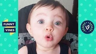 TRY NOT TO LAUGH - Funny KIDS FAILS & BABY Videos Compilation | Funny Vines August 2018