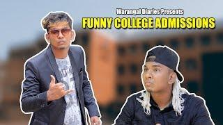 Funny College Admission Scenes | Warangal Diaries
