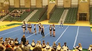 Xtreme Cheer Bombshells - NDSU Green & Gold 2018