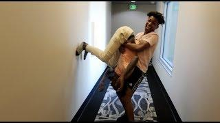 BEING ANNOYING PRANK ON DDG... HE TRIED TO WRESTLE ME !!!