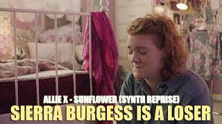 "Allie X - Sunflower ""Synth Reprise"" (Lyric video) • Sierra Burgess Is A Loser Soundtrack •"