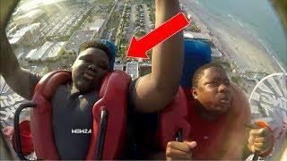 Slingshot Ride | Funny / Scared Pass Out Edition Compilation Part 38